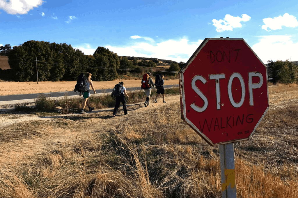 Første halvdel af Camino Francés med lidt camino filosofi