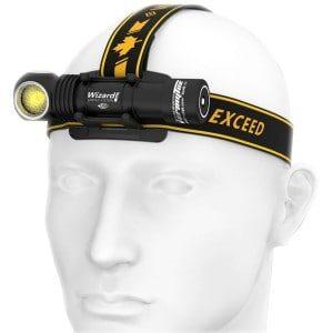 Armytek Wizard Pro Magnet USB Nichia LED Pandelampe - Warm