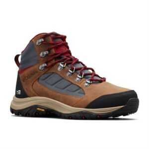 Columbia 100MW Mid Outdry Womens, Graphite / Beet