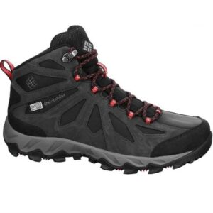 Columbia Lincoln Pass Mid LTR Outdry Womens, Black / Red