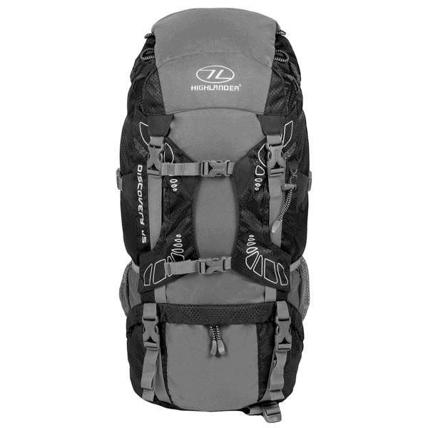Discovery rygsæk - 45 liter - Sort