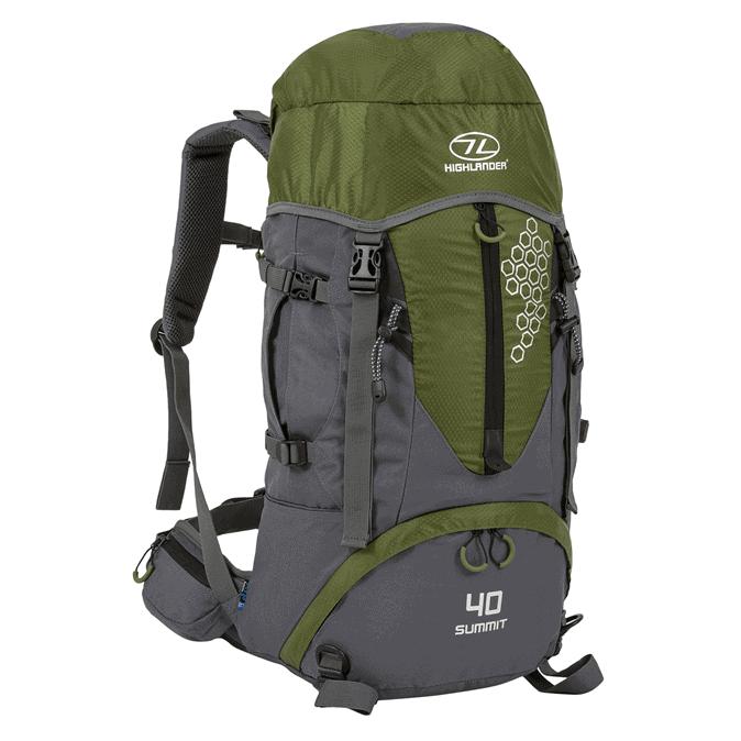 Summit rygsæk - 40 liter