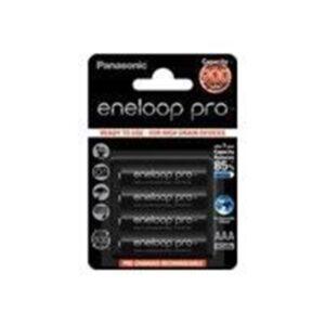 Panasonic eneloop pro BK-4HCCE/4BE Powerbank - Sort - 900 mAh