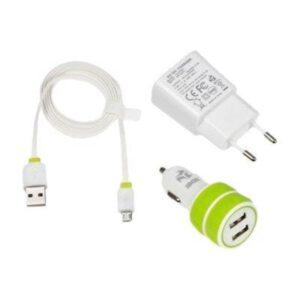iBOX 3W1 KIT - power adapter kit Powerbank - Hvid -