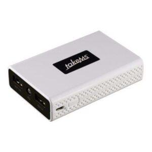 takeMS TMB-PX-6600 Powerbank - Hvid - 6600 mAh