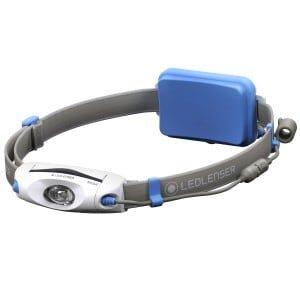 Blå neo6r led lenser
