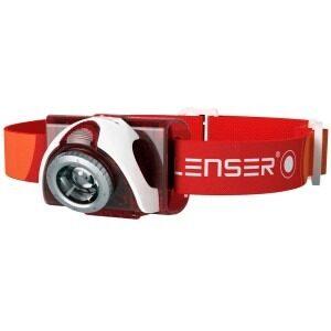 Rød SEO5 Led Lenser