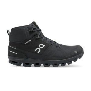 On Cloudrock Waterproof Mens, All Black